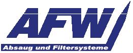 AFW Luftechnik – Ihr Spezialist für Absaug- und Filtersysteme aus Thüringen. Logo