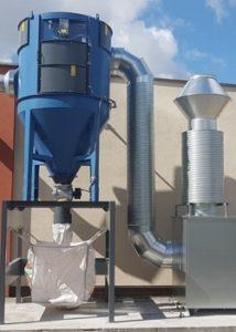 Absaug- und Filteranlagen